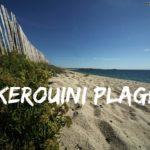 Kerouini, très belle plage à Trégunc