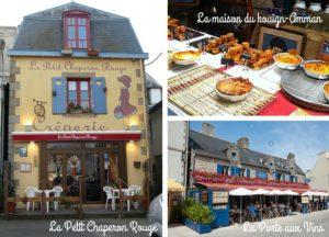 A visiter restaurant crêperie à Concarneau en Ville Close