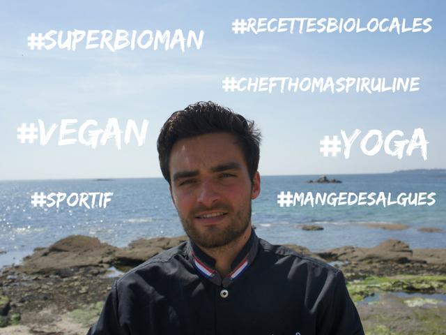 Voici Thomas Spiruline, jeune chef vegan de Bretagne